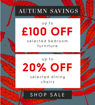 Autumn Savings now on