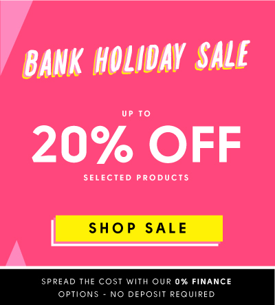 Bank Holiday Sale up to 20% off