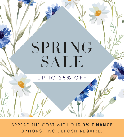 Spring Sale up to 25% off