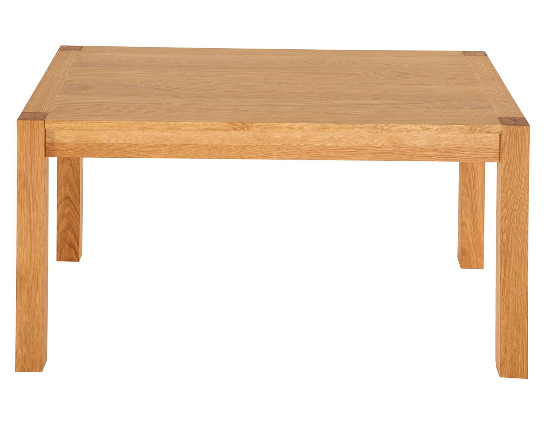 Devonshire Natural Solid Oak Rectangular Dining Table