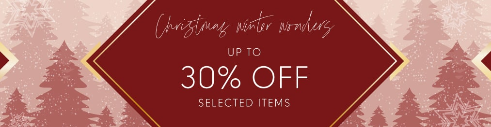 Christmas Winter Wonders up to 50% Off selected items