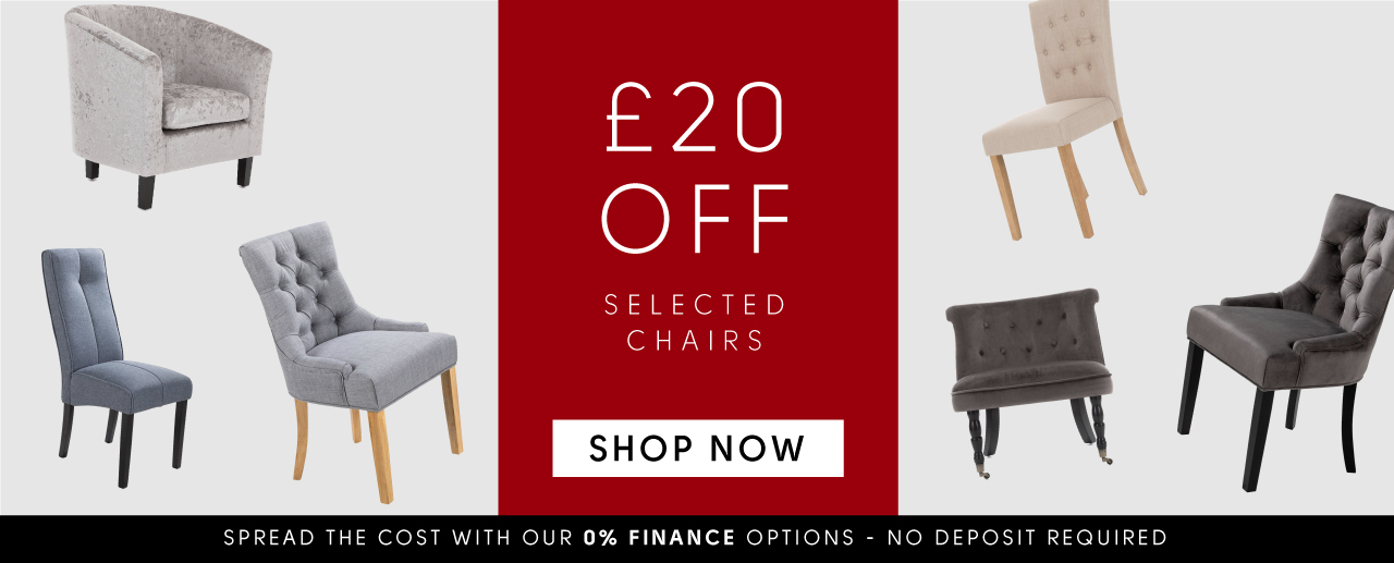 £20 off selected chairs