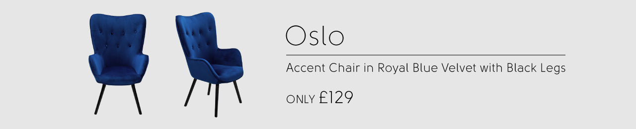 Oslo Accent Chair only £129