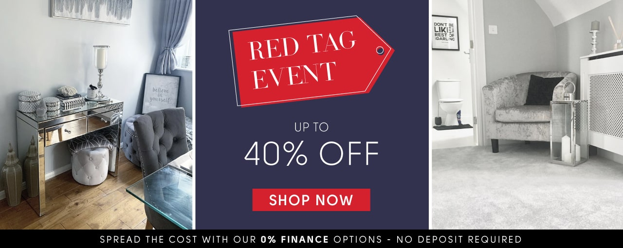 Red Tag Event up to 40% off