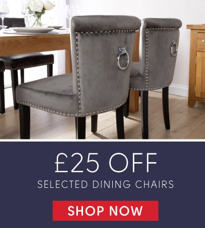 £25 off selected dining chairs