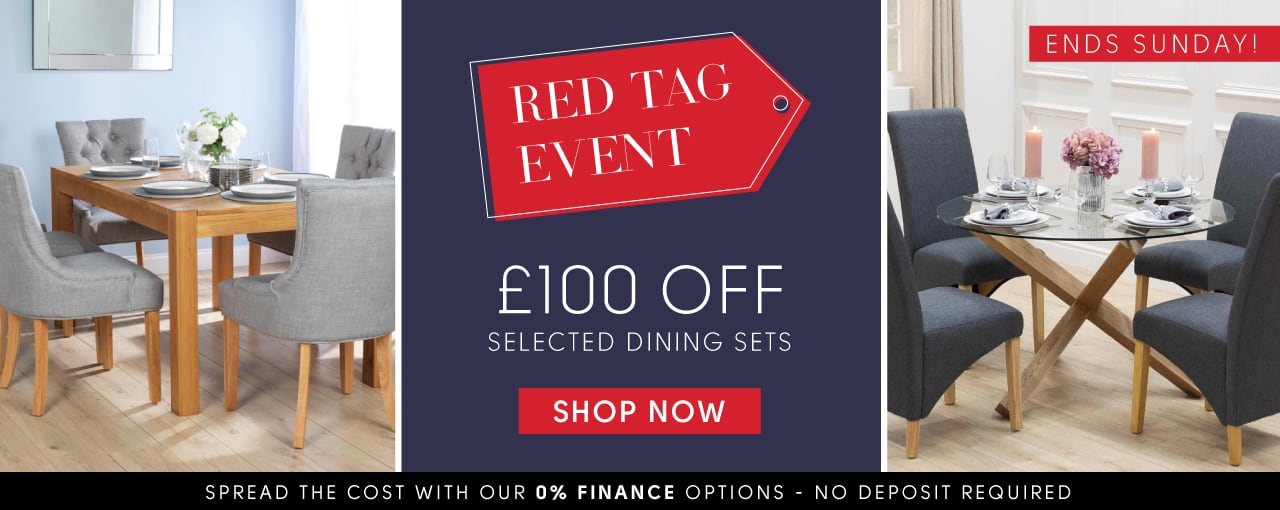 £100 off selected dining sets