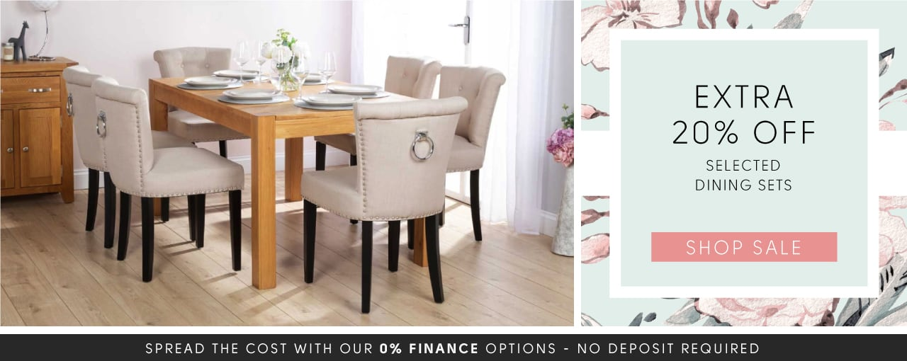 20% off selected dining sets