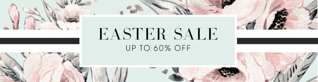 Easter Sale up to 60% off