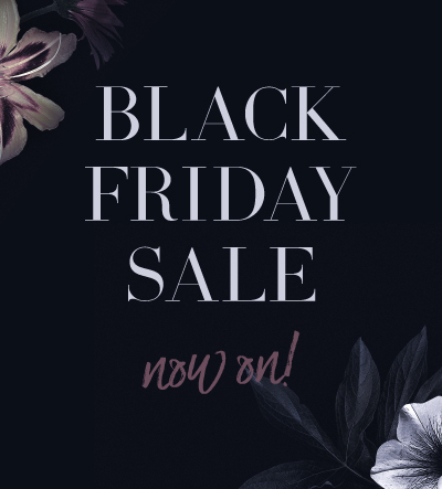 Black Friday Sale Now On!