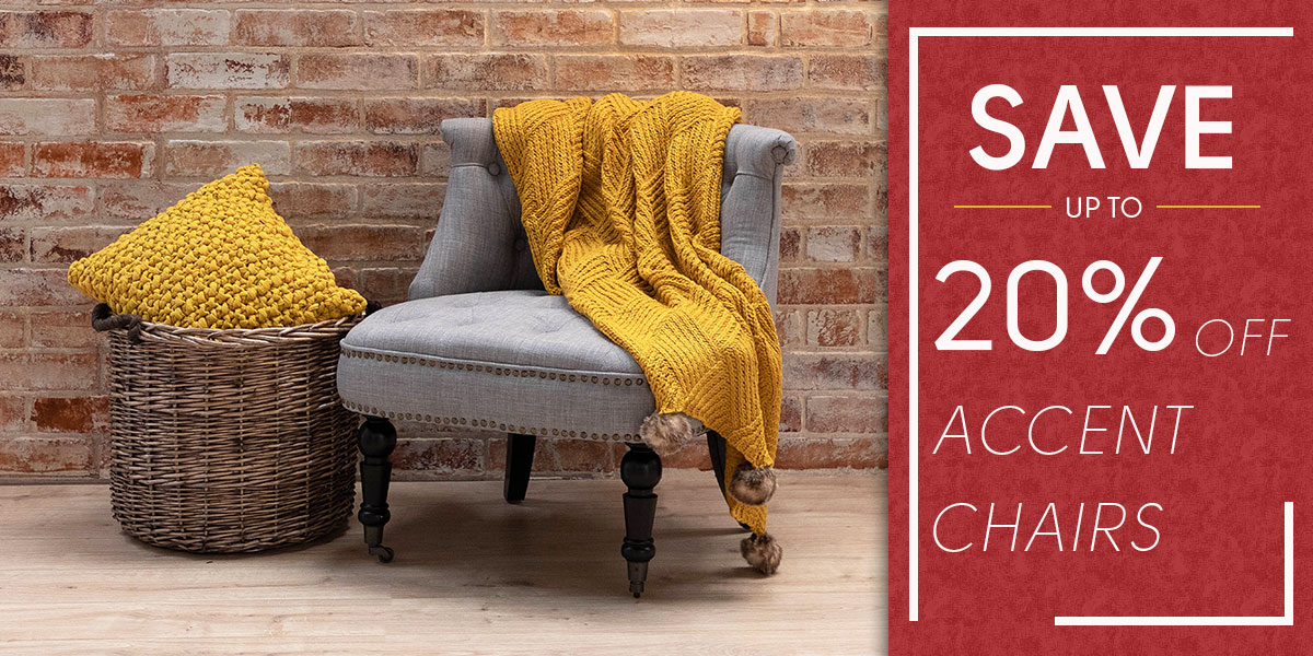 Red Tag Event - 20% Off Accent Chairs