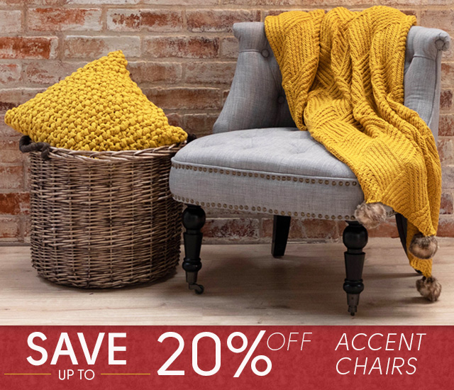 Red Tag Event - 20% Off Accent Chairs - Mobile