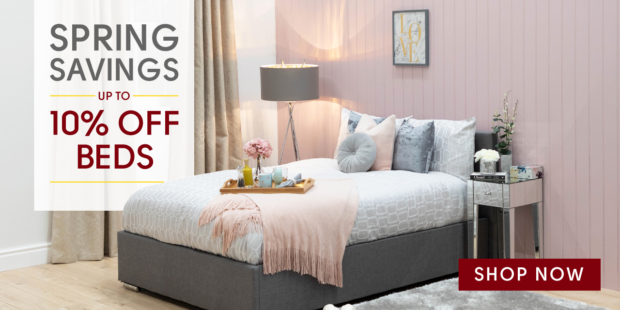 Ultimate Savings 10% off beds