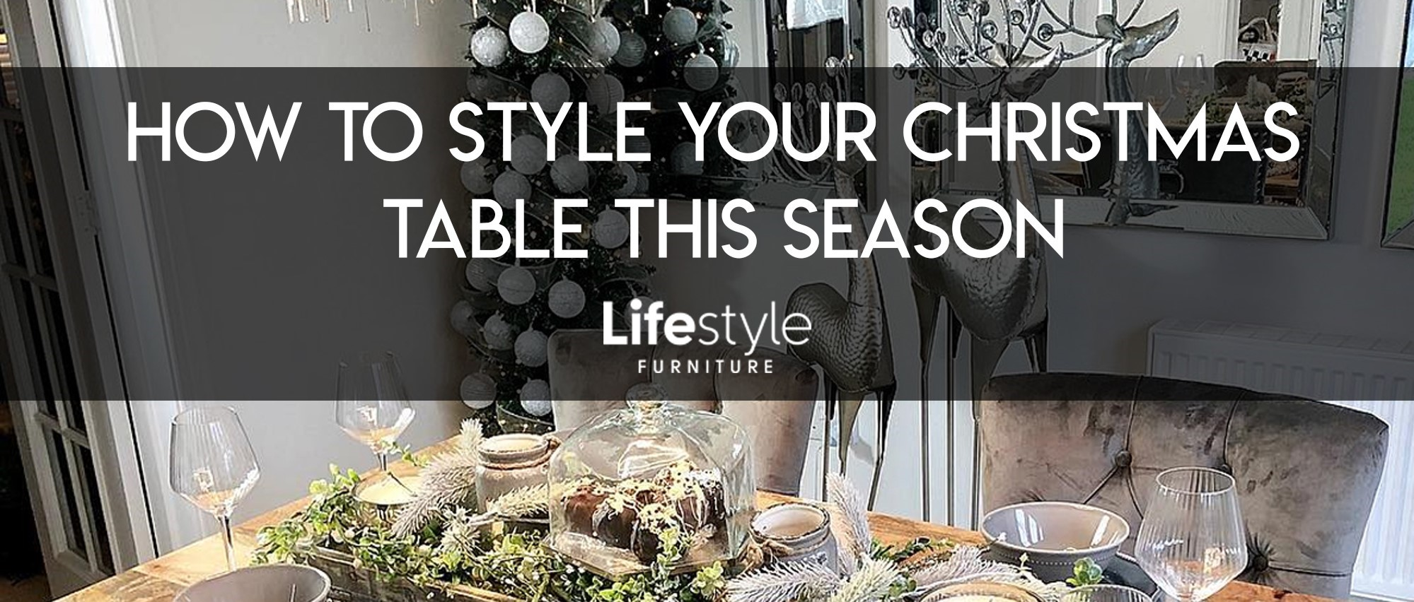 How to dress your dining table this Christmas