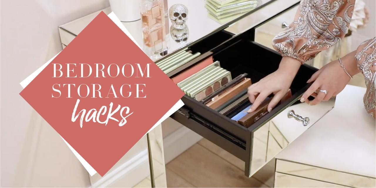 Bedroom Storage Hacks